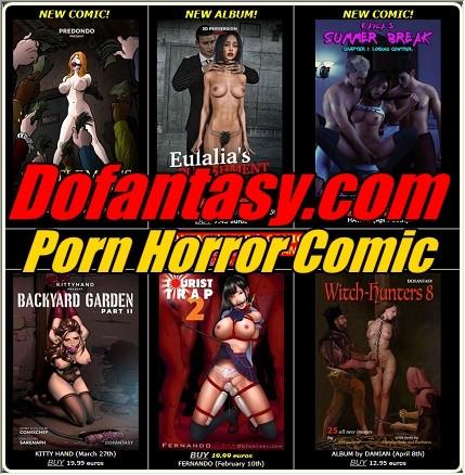 Dofantasy.com - Porn Horror Comic